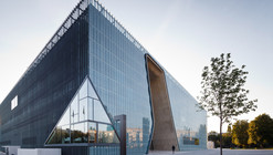 Museo de la Historia de Judios Polacos / Lahdelma & Mahlamäki + Kuryłowicz & Associates