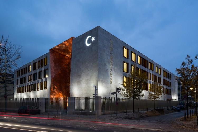 Embaixada da Turquia em Berlim / NSH Architekten, © Bernardette Grimmenstein