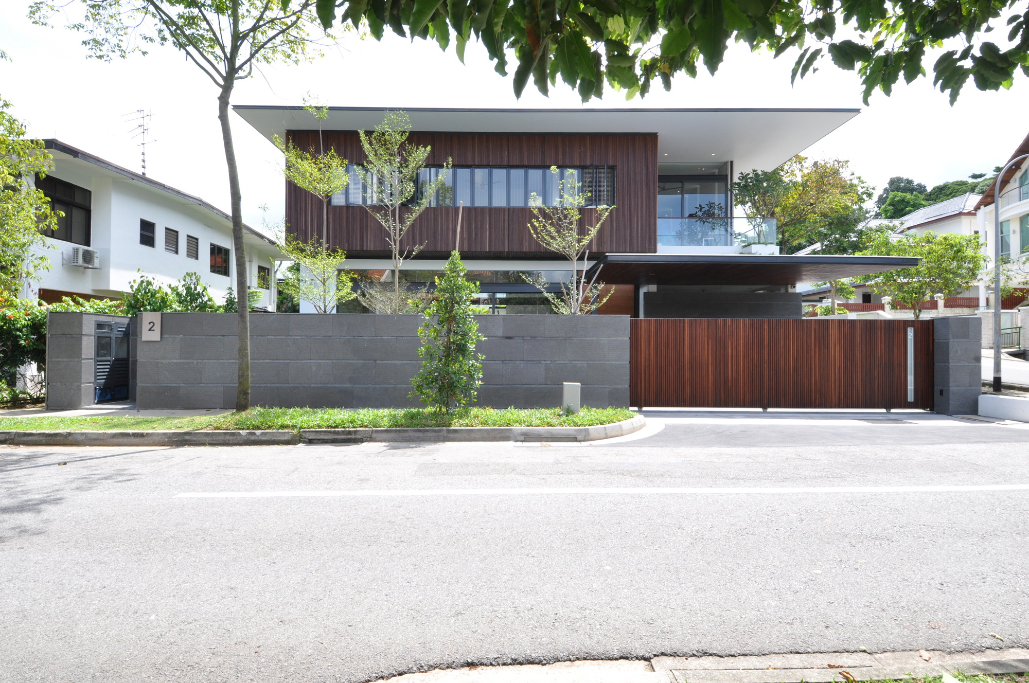 Sunset terrace house a collective archdaily for Terrace homes