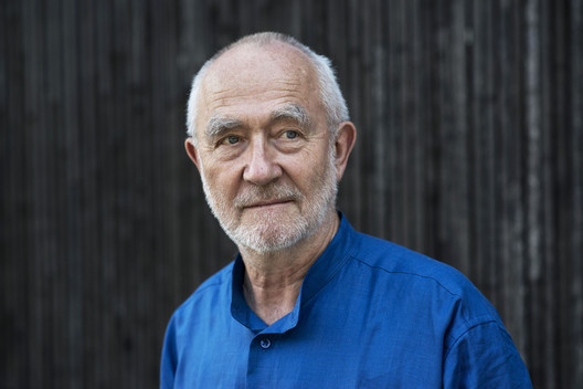 Peter Zumthor, Architecture mentor. Image © Keystone / Christian Beutler