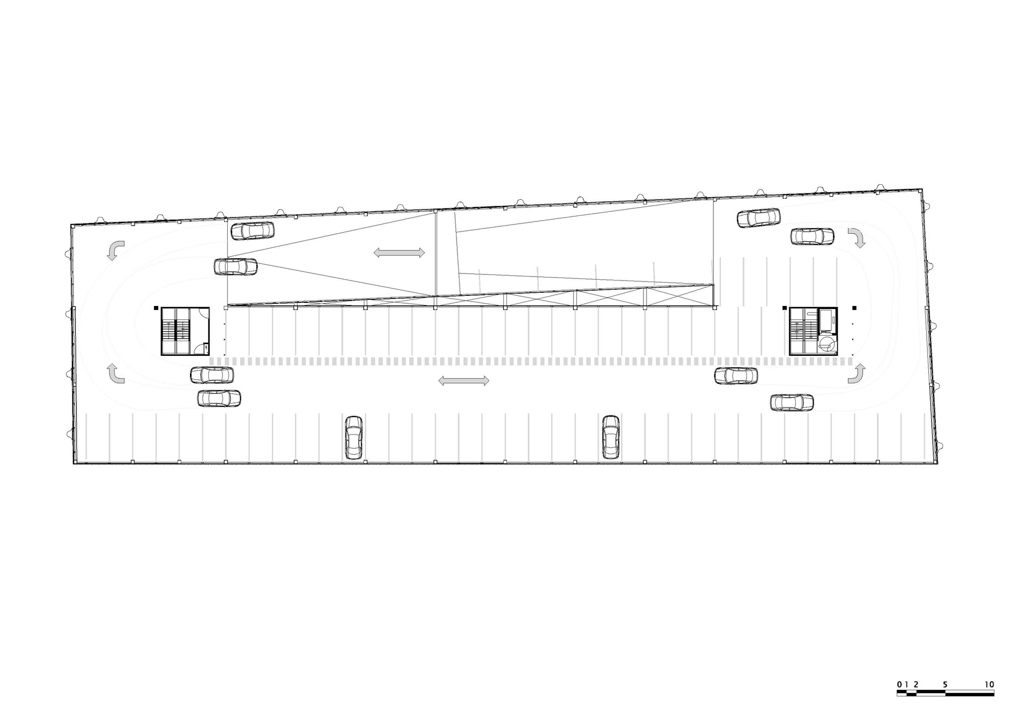 Parking Garage Entrance Plan