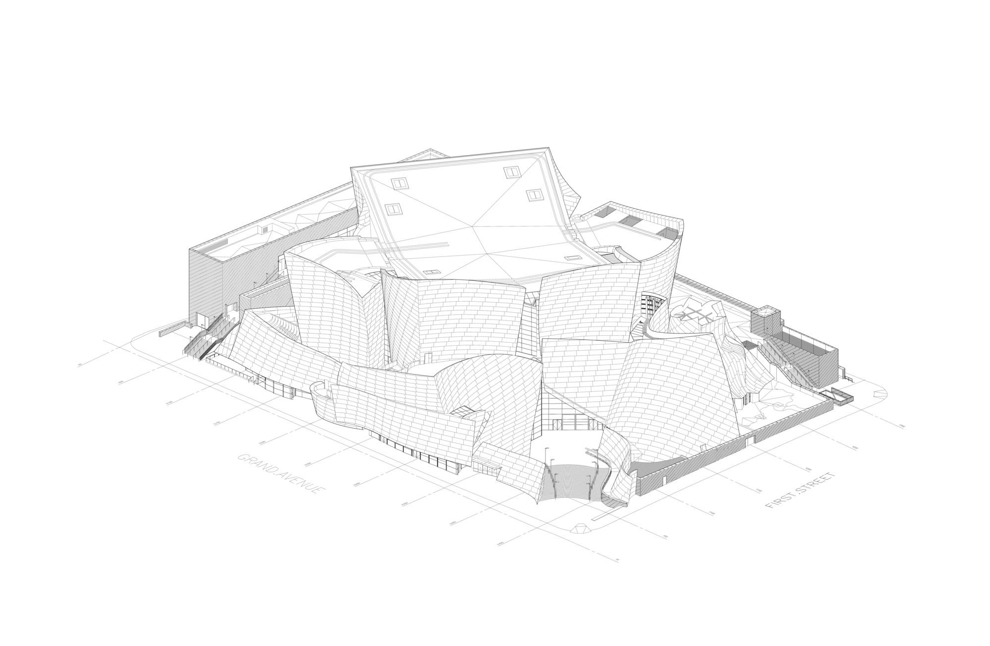 Gallery Of Ad Classics Walt Disney Concert Hall Frank Gehry 22