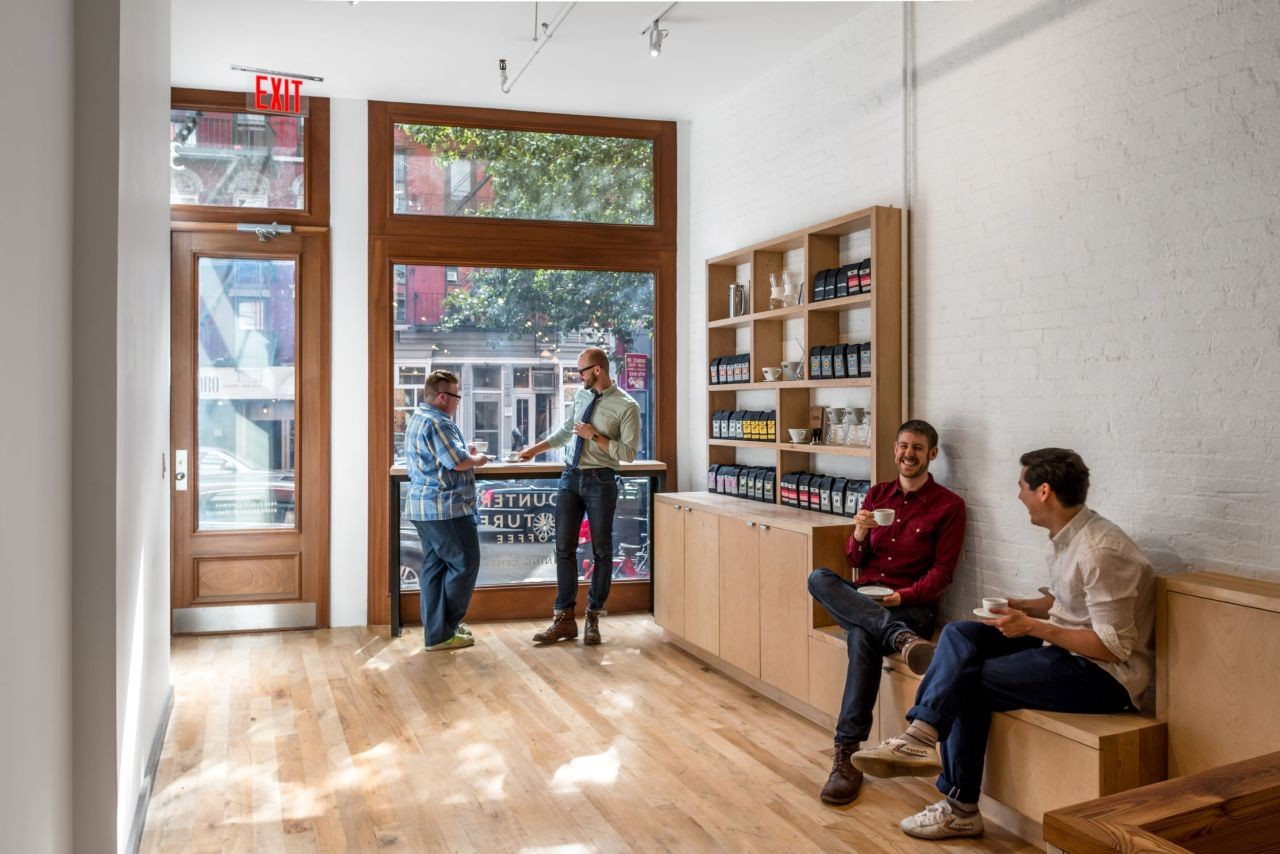 Interior Design Culture counter culture coffee training center / jane kim design | archdaily