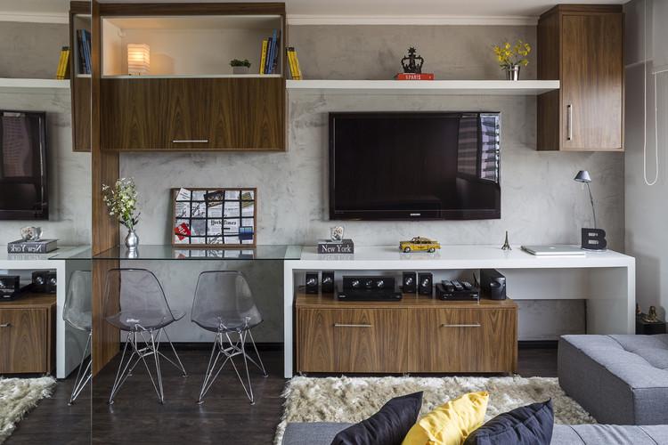 Apartamento LP / BEP Arquitetos, © Haruo Mikami