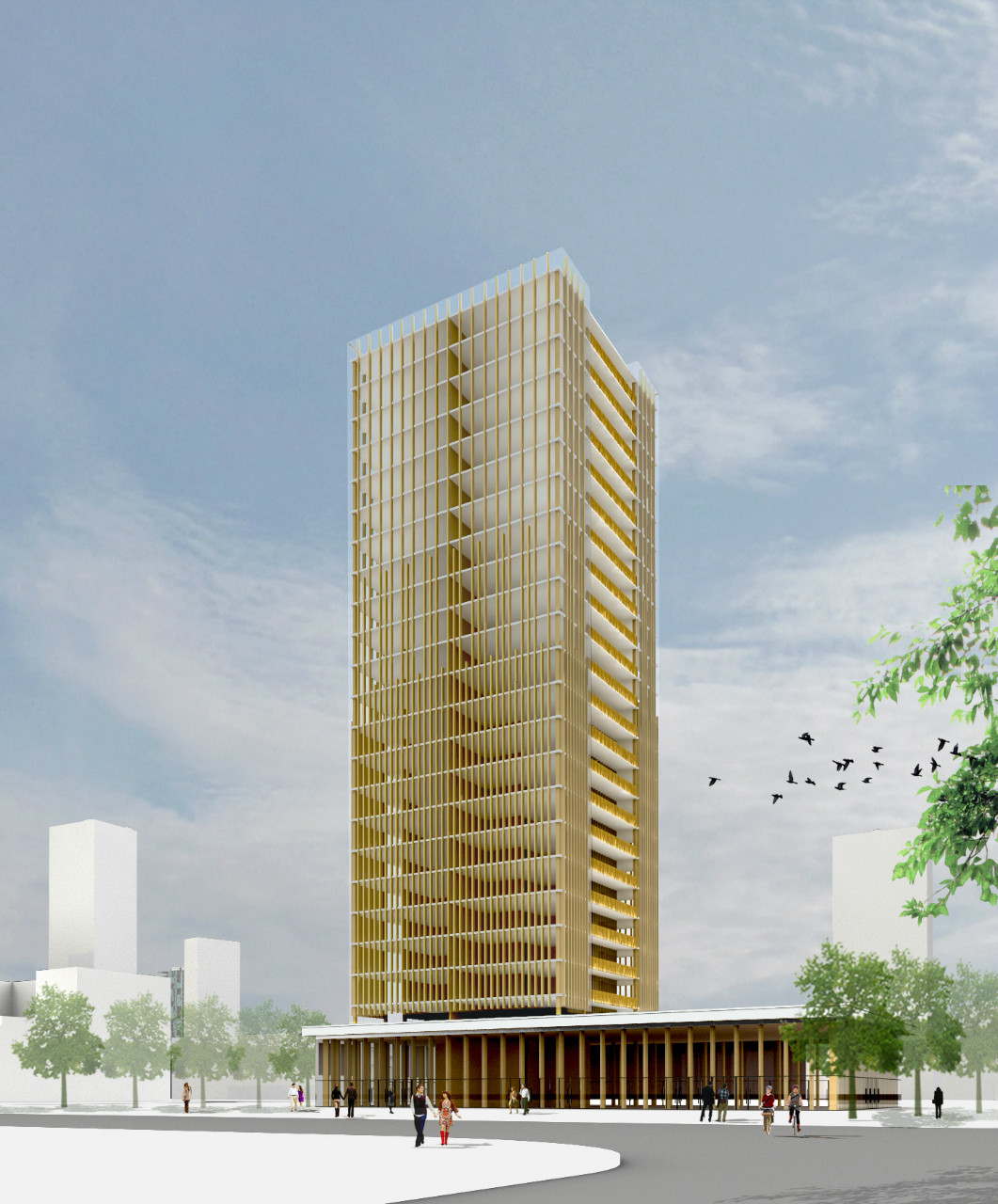 The Case For Tall Wood Buildings