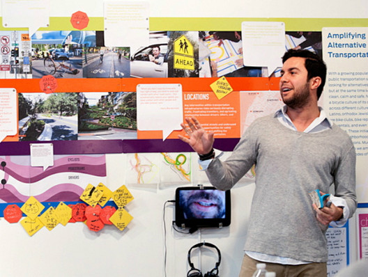 via Ben Ferrari. The Parsons DESIS Lab (Design for Social Innovation and Sustainability) spent a year immersed in the New York City neighborhoods of Greenpoint and Williamsburg, Brooklyn, uncovering ways to improve the city. Image Courtesy of Metropolis Magazine