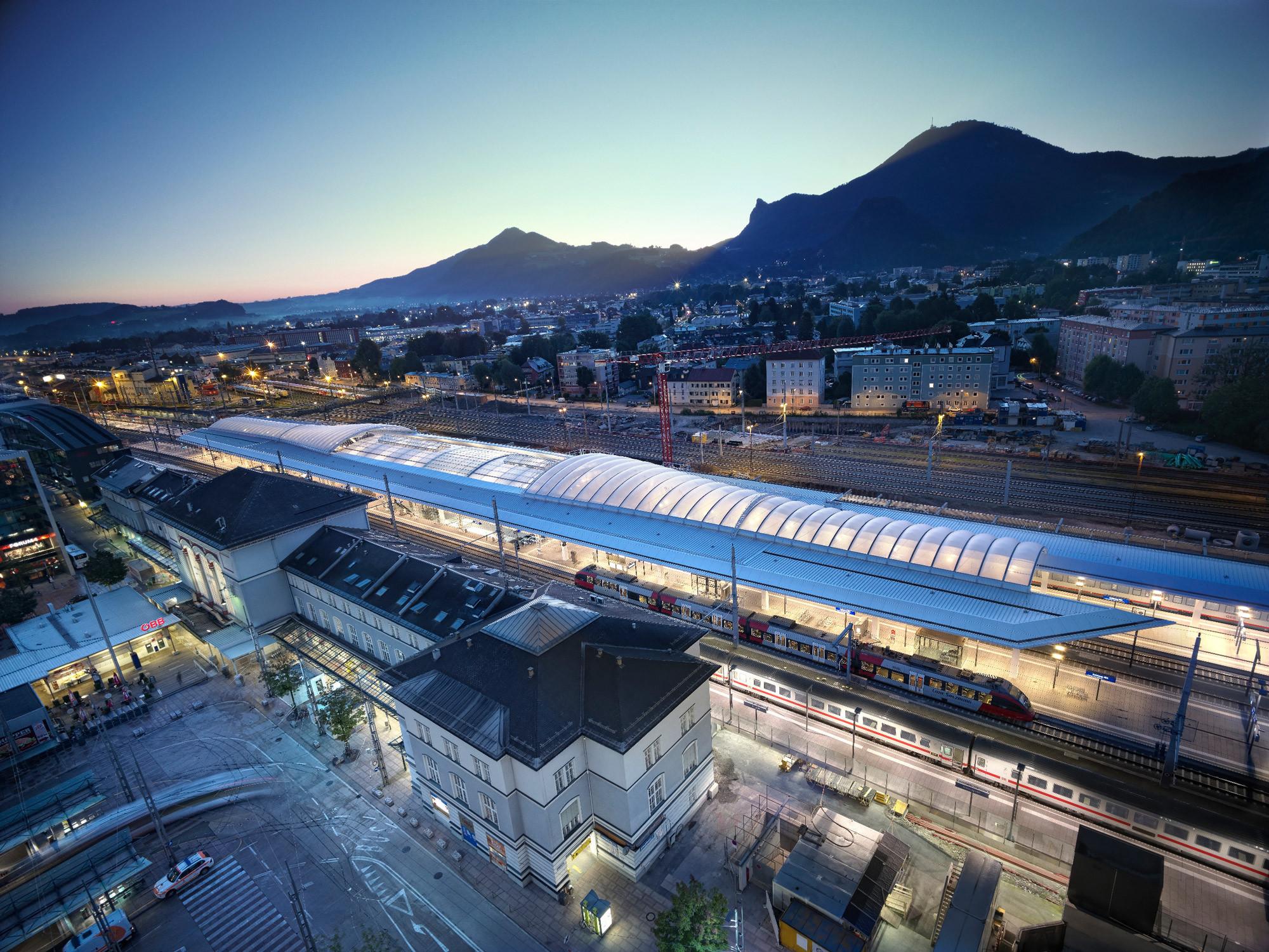 Central Station Salzburg / Kadawittfeld Architektur, © Taufik Kenan