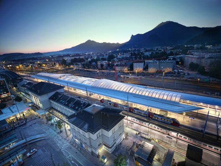 Estação Central de Salzburgo / Kadawittfeld Architektur, © Taufik Kenan