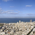 Panoramic view to the north. Image © Richard Meier