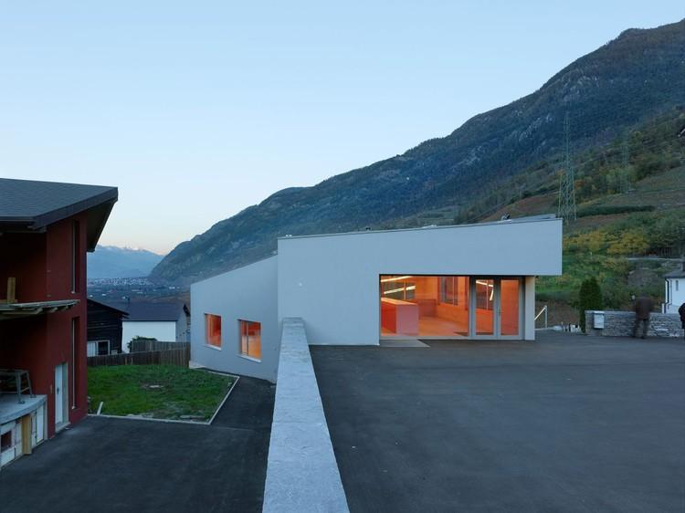 Salles Communales / Savioz Fabrizzi Architectes, © Thomas Jantscher