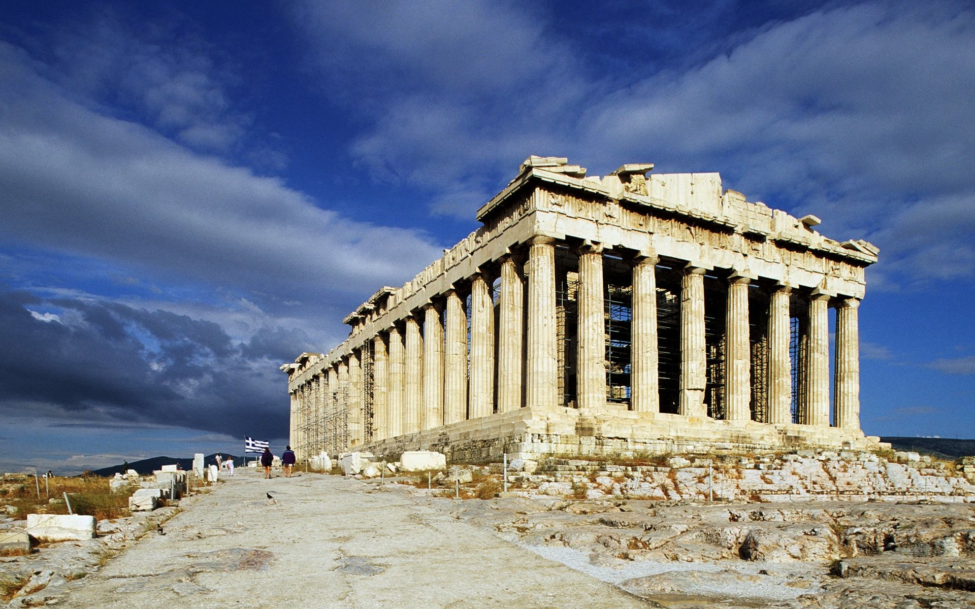 3D Laser Technology to Digitally Preserve The World's Greatest Sites, CyArk's Scanned Parthenon Project. Image Courtesy of toptravellists.net