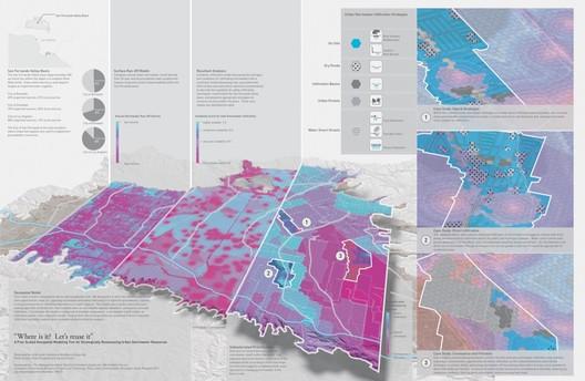 Arid Land Institute Geo-spatial Model. Image © Arid Land Institute