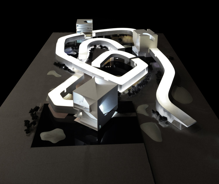 Steven Holl vence competição para Centro de Cultura e Arte de Qingdao , Courtesy of Steven Holl Architects