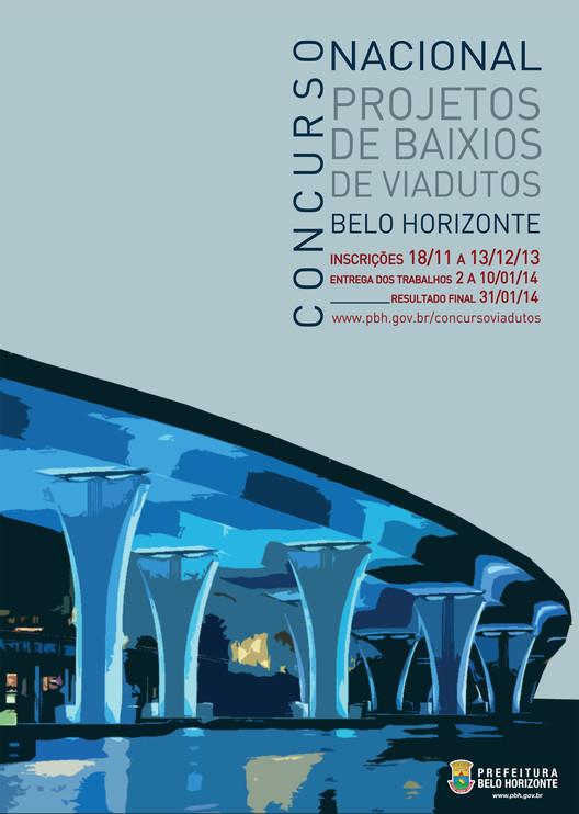Últimos dias para se inscrever no concurso de requalificação de baixios de viadutos em Belo Horizonte