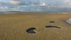 Intervenção na Paisagem: Baixa-mar, espelhos do céu / x-studio
