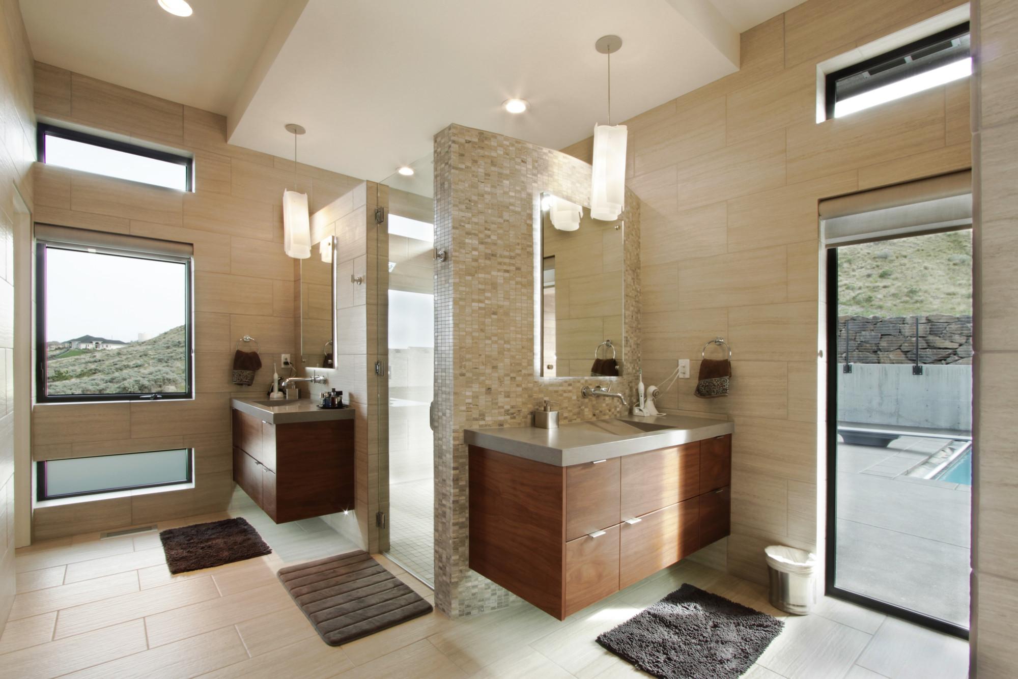 Galeria de casa na montanha badger first lamp for W 4 bathrooms chiswick