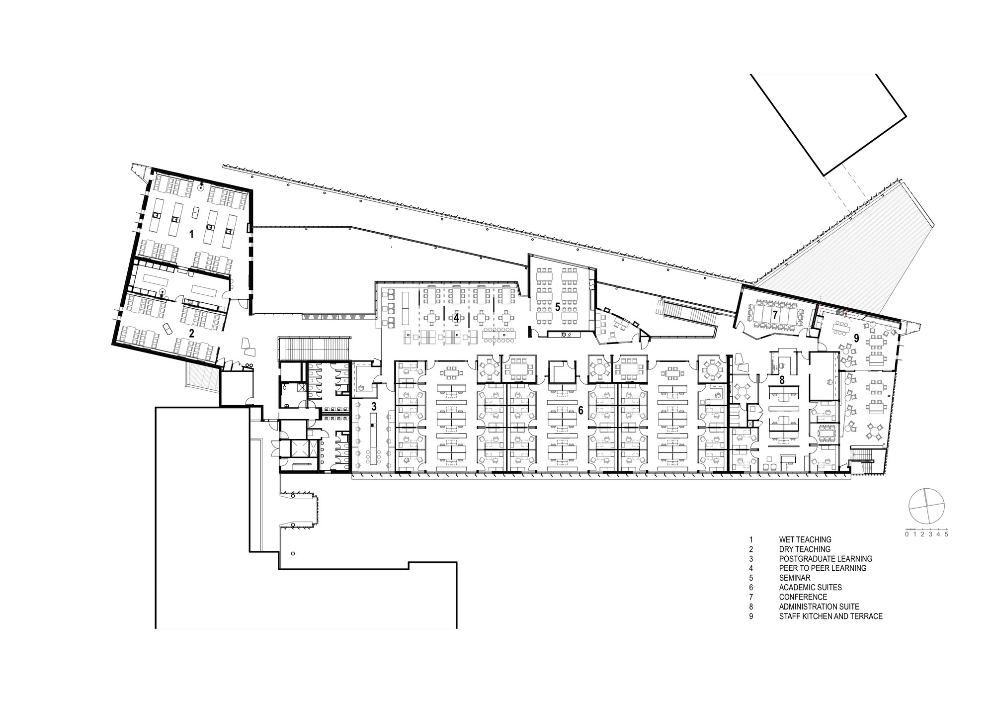 Teaching Kitchen Floor Plan Gallery Of James Cook University  Wilson Architects  Architects
