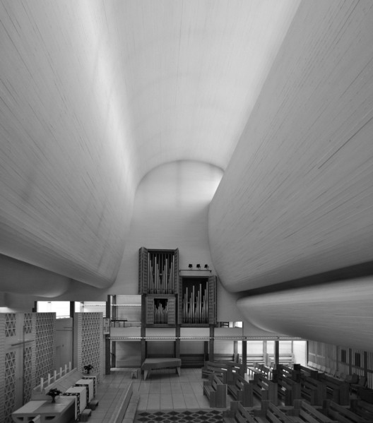 AD Classics: Bagsværd Church / Jørn Utzon, © Flickr User: seier + seier