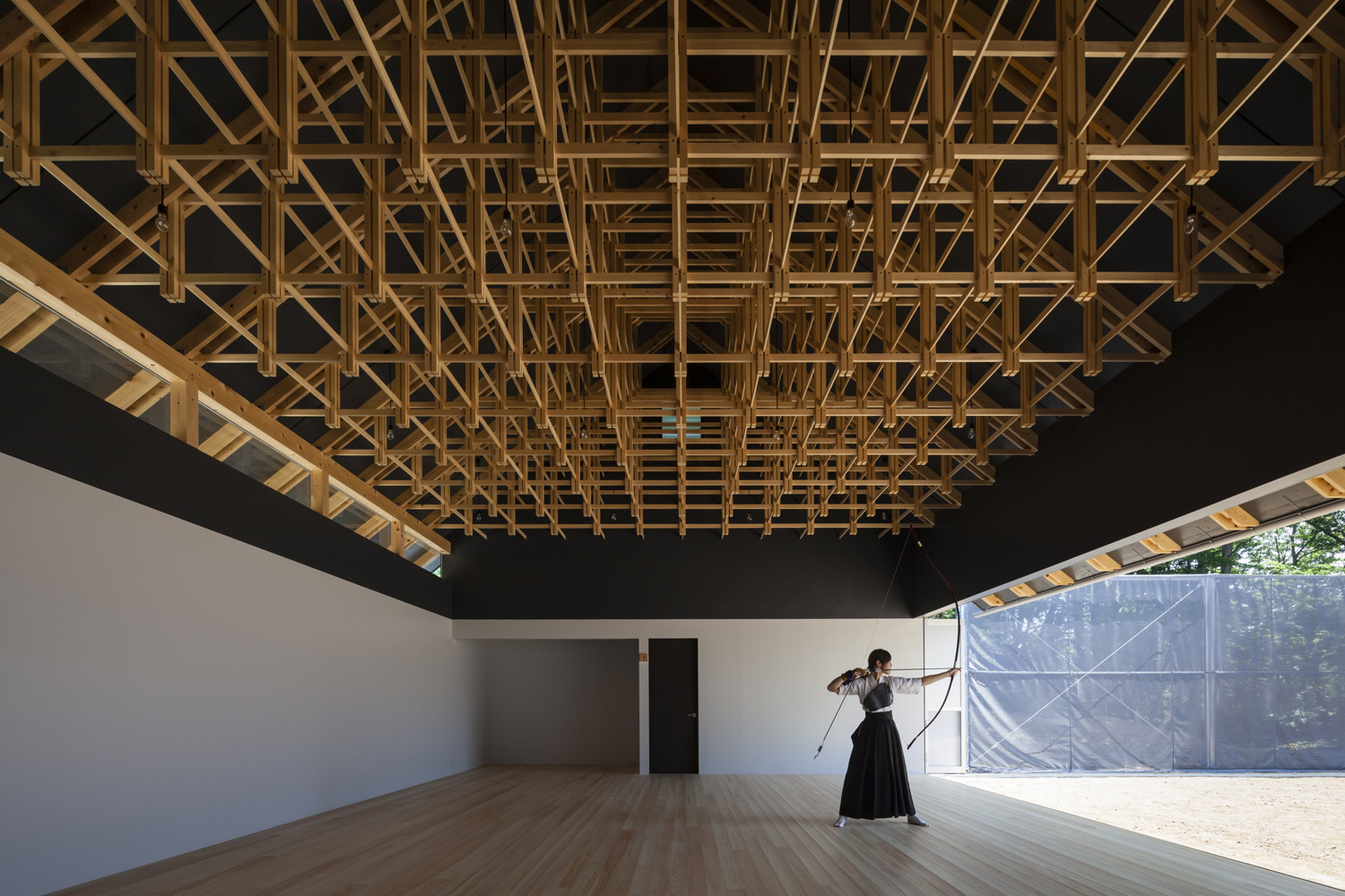 Archery Hall & Boxing Club / FT Architects