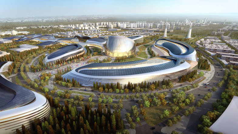 AS+GG Wins Competition for Astana World EXPO 2017, © Adrian Smith + Gordon Gill Architecture