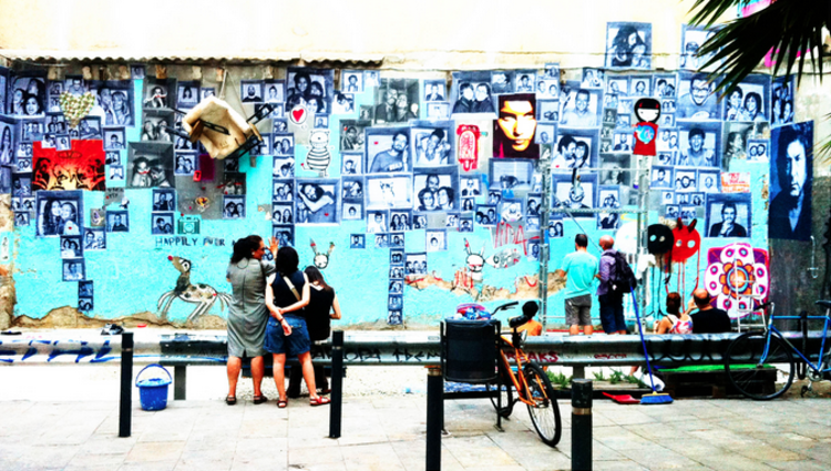 #Encaja_dos: Uma galeria de arte efêmera em uma esquina de Barcelona , Cortesia de  lagaleriademagdalena.com