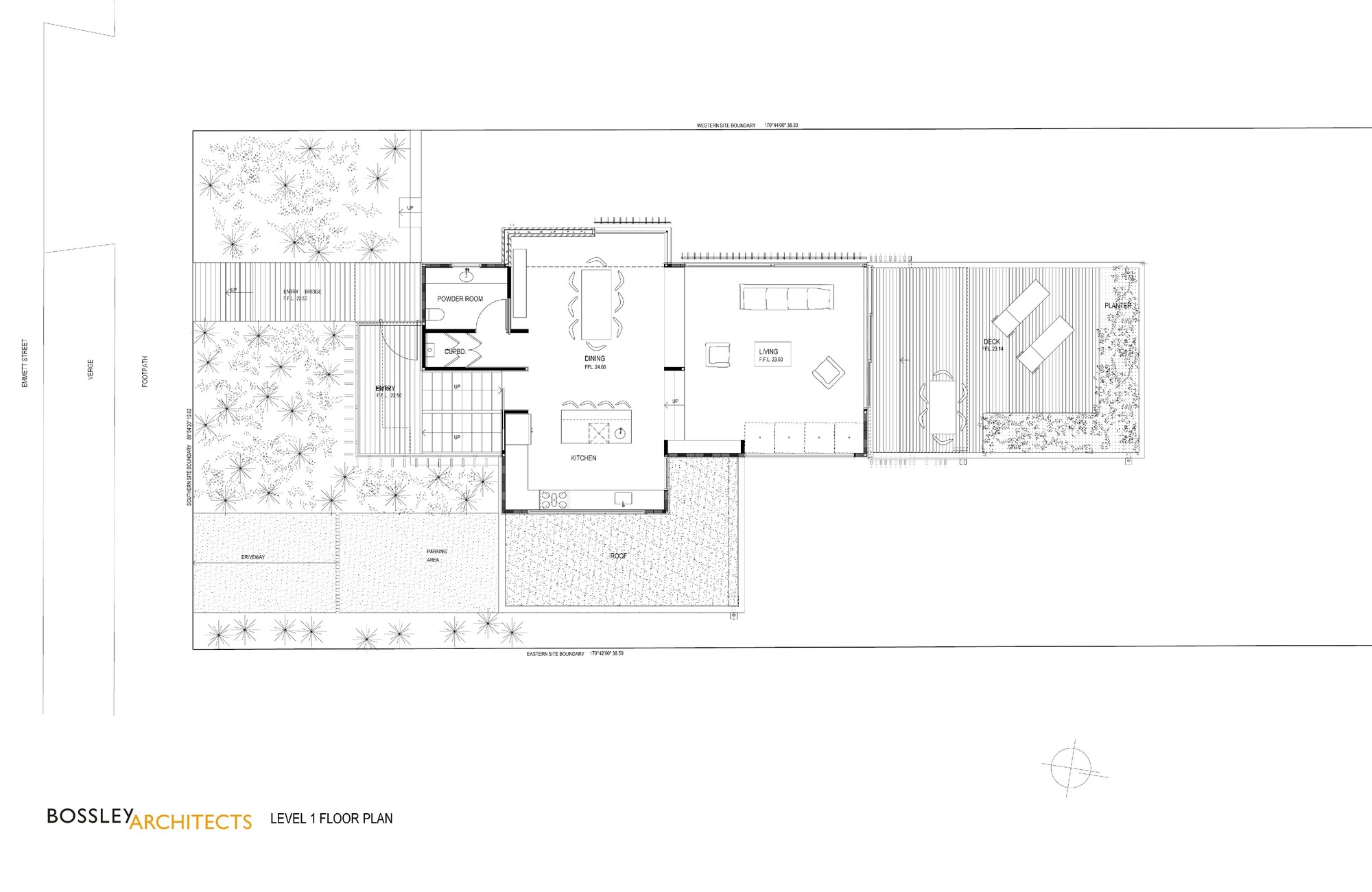 Simple 1 Floor House Plans Gallery Of Brown Vujcich House Bossley Architect S 18