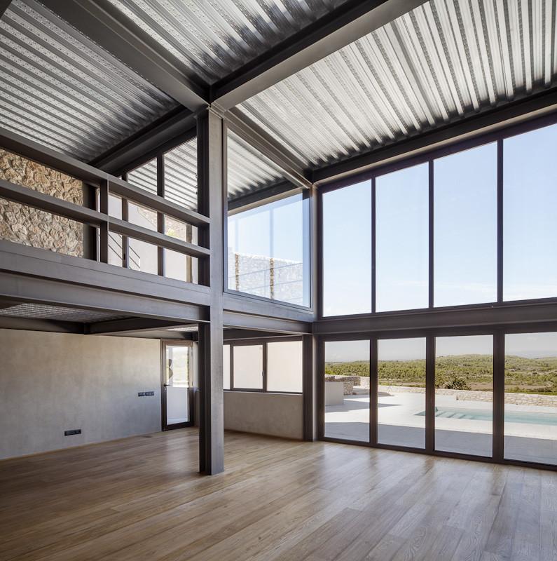Gallery of m house mdba guallart architects 2 - Steel framing espana ...