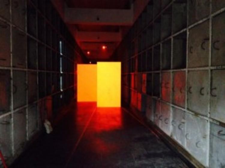 Penetrável Genet / Experiência Araçá - um passeio pela necrópole, Cortesia de X Bienal de Arquitetura de São Paulo