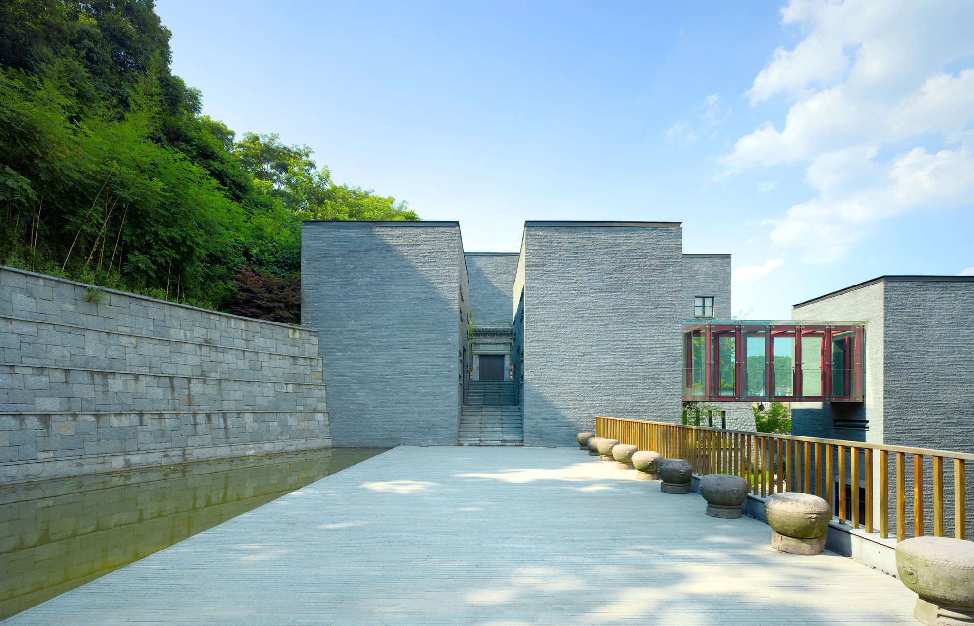 Baohua Chinese Painting Research Institute / Wang Deng Yue, © Savoye Architectural Photography