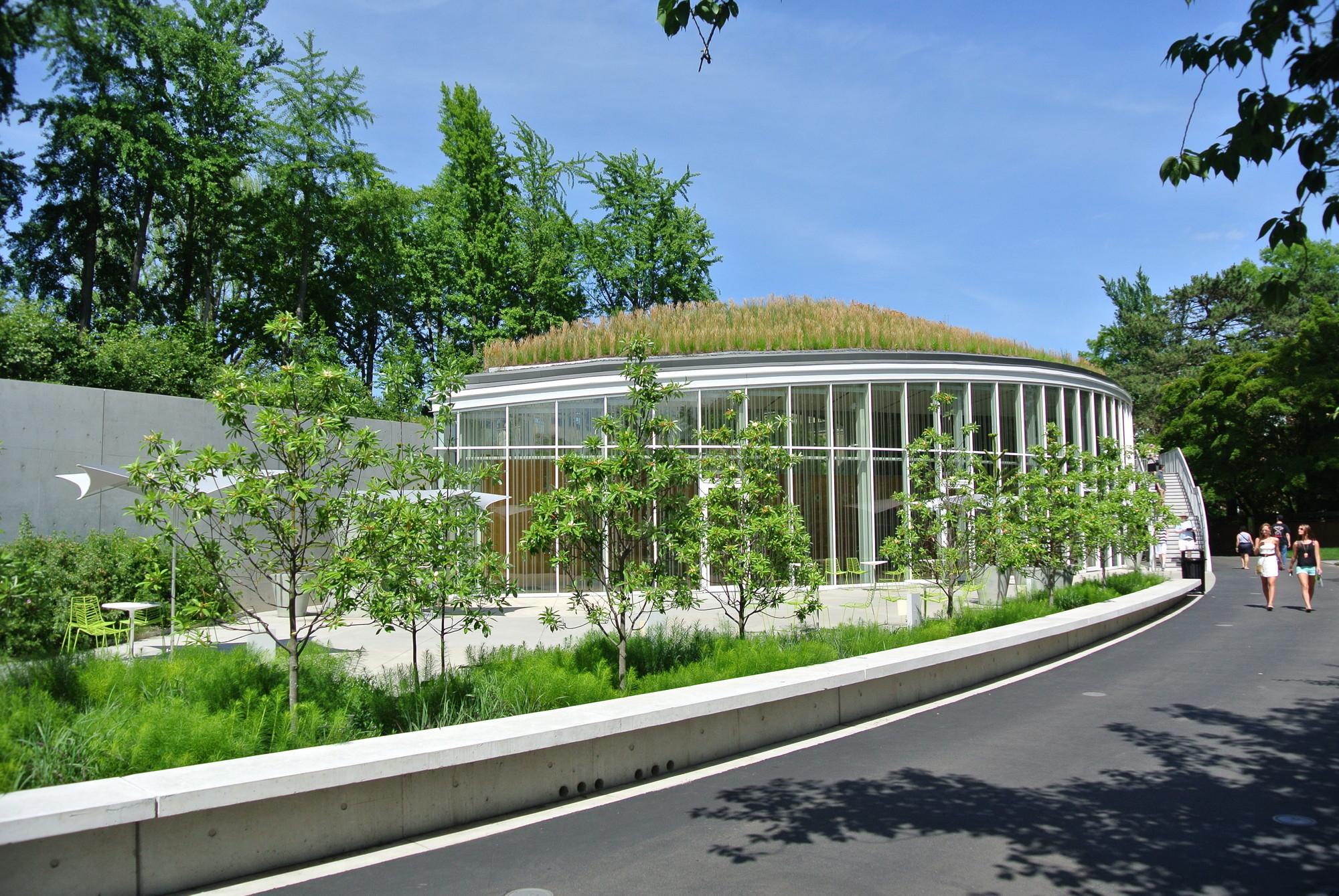 Gallery of brooklyn botanic garden visitor center weiss manfredi 3 for Brooklyn botanical garden parking