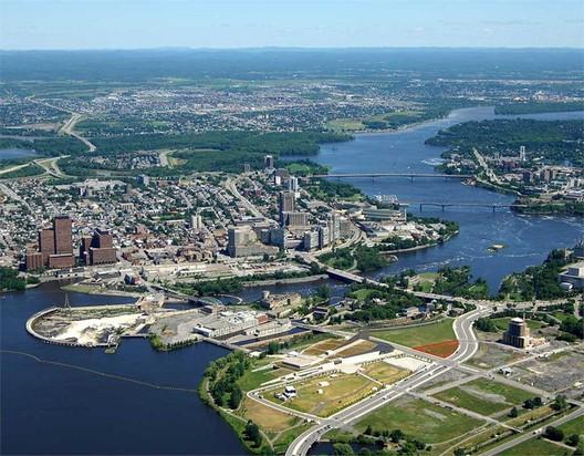 Ottawa site of future National Holocaust Monument. Image Courtesy of Canadian Architect