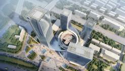 Proposta vencedora para a Sede Administrativa da Fangda / Huasen Architects