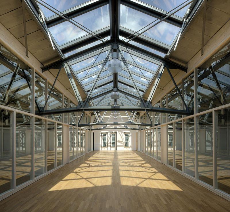Architekt Leverkusen the warehouse depot heinrich böll architekt archdaily