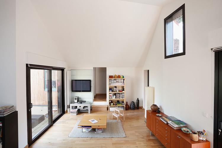extensi n de una casa en meudon cut architectures plataforma arquitectura. Black Bedroom Furniture Sets. Home Design Ideas