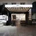paris new york restaurant cut architectures archdaily. Black Bedroom Furniture Sets. Home Design Ideas