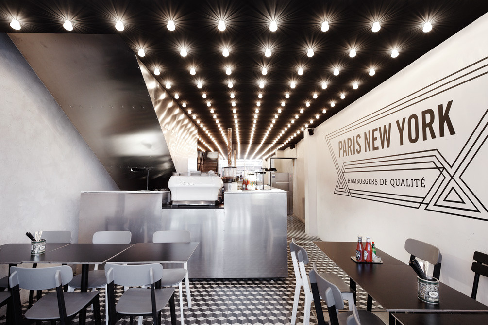 Paris New-York Restaurant / CUT Architectures, © David Foessel