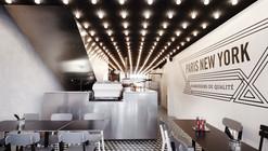 Paris New-York Restaurant / CUT Architectures