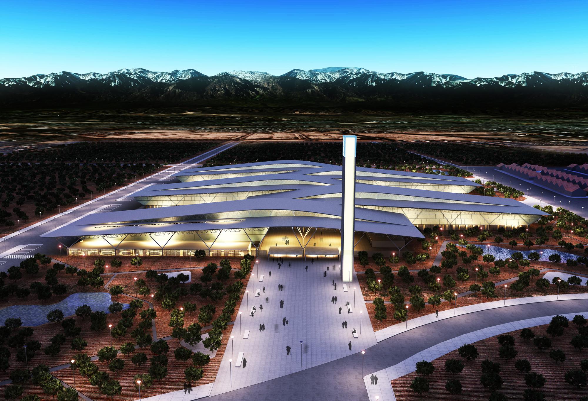Primer Lugar Concurso Nacional de Anteproyectos Predio Ferial Mendoza, © Equipo Primer Lugar