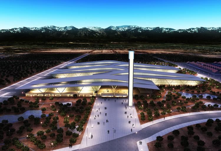 Primeiro Lugar no Concurso Nacional de Anteprojetos Prédio Federal Mendoza, Cortesia de Equipe Primeiro Lugar