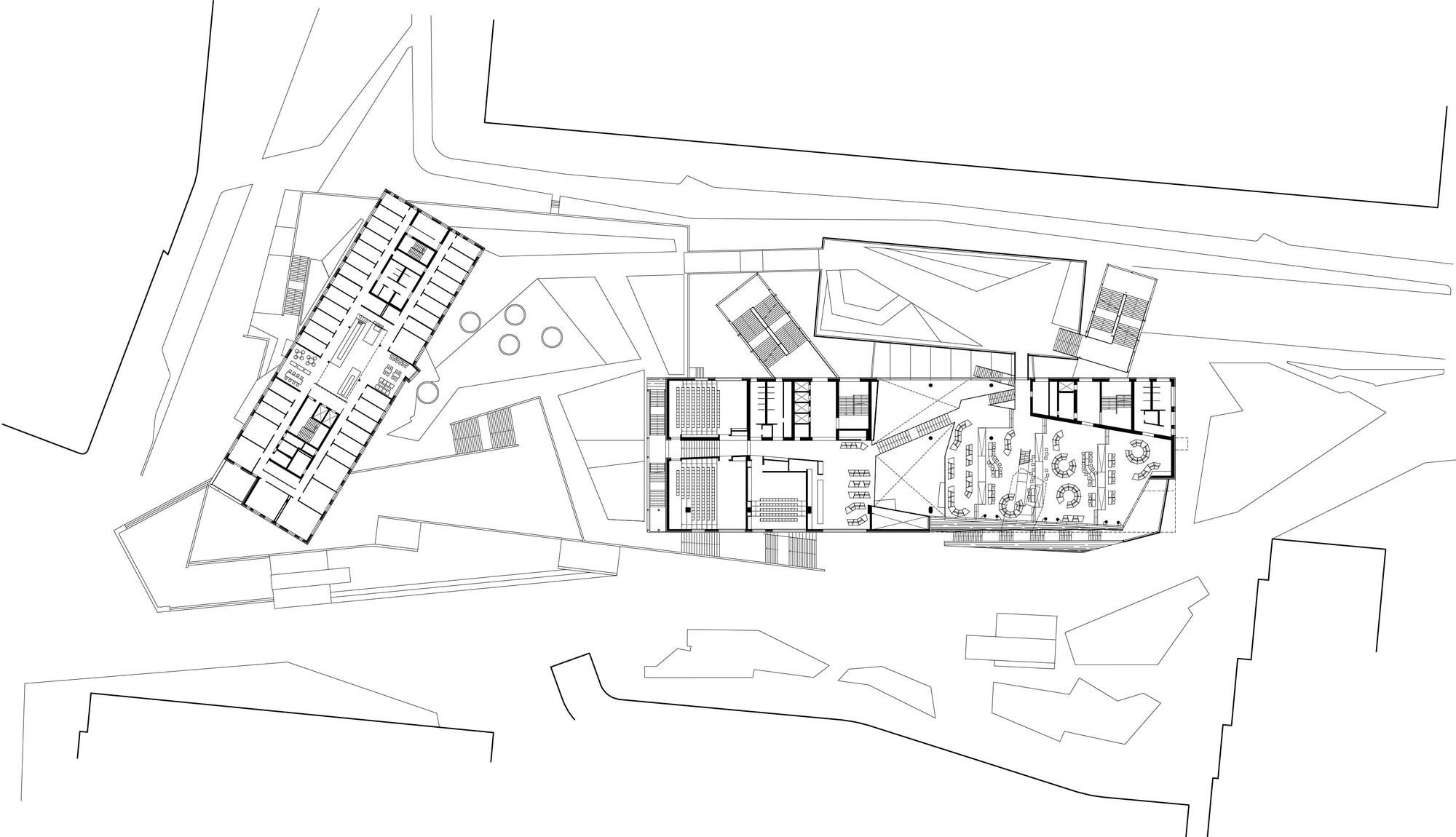 Gallery of Auditorium Center in WU Campus / BUSarchitektur - 32 on