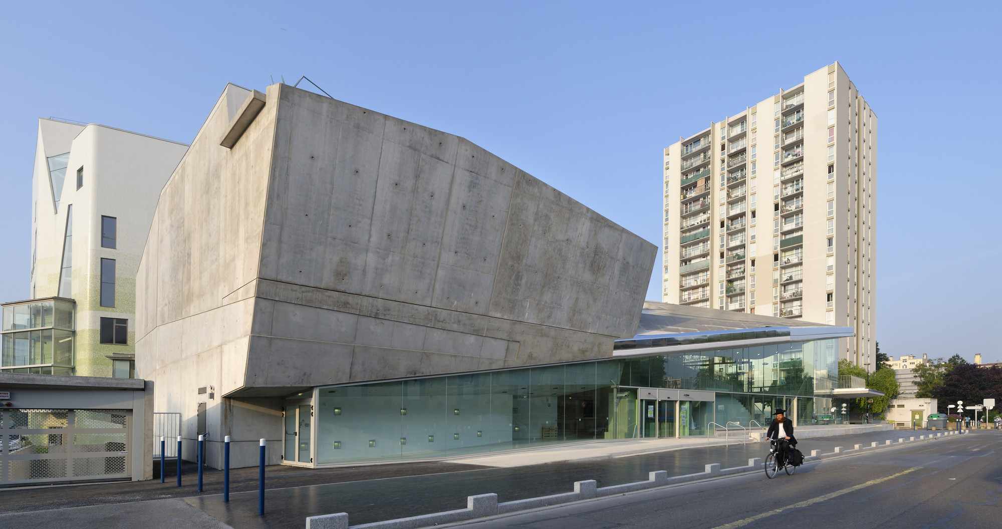 Conservatoire d'Aubervilliers / Agence Chochon-Pierre, © Augusto Da Silva