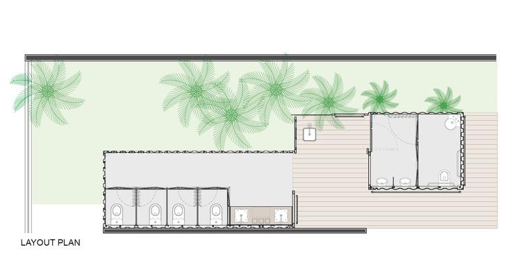 Banheiros Ecotransportáveis / SJ2A | ArchDaily Brasil