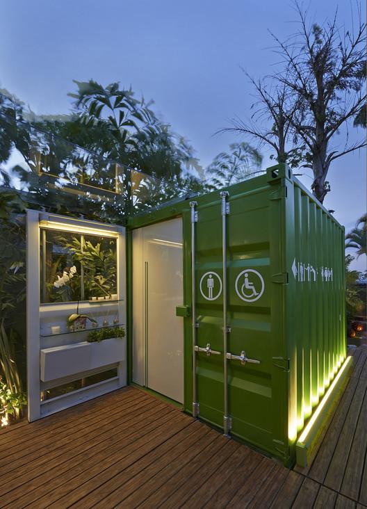 Banheiros Ecotransportáveis / SJ2A, © Jomar Bragança