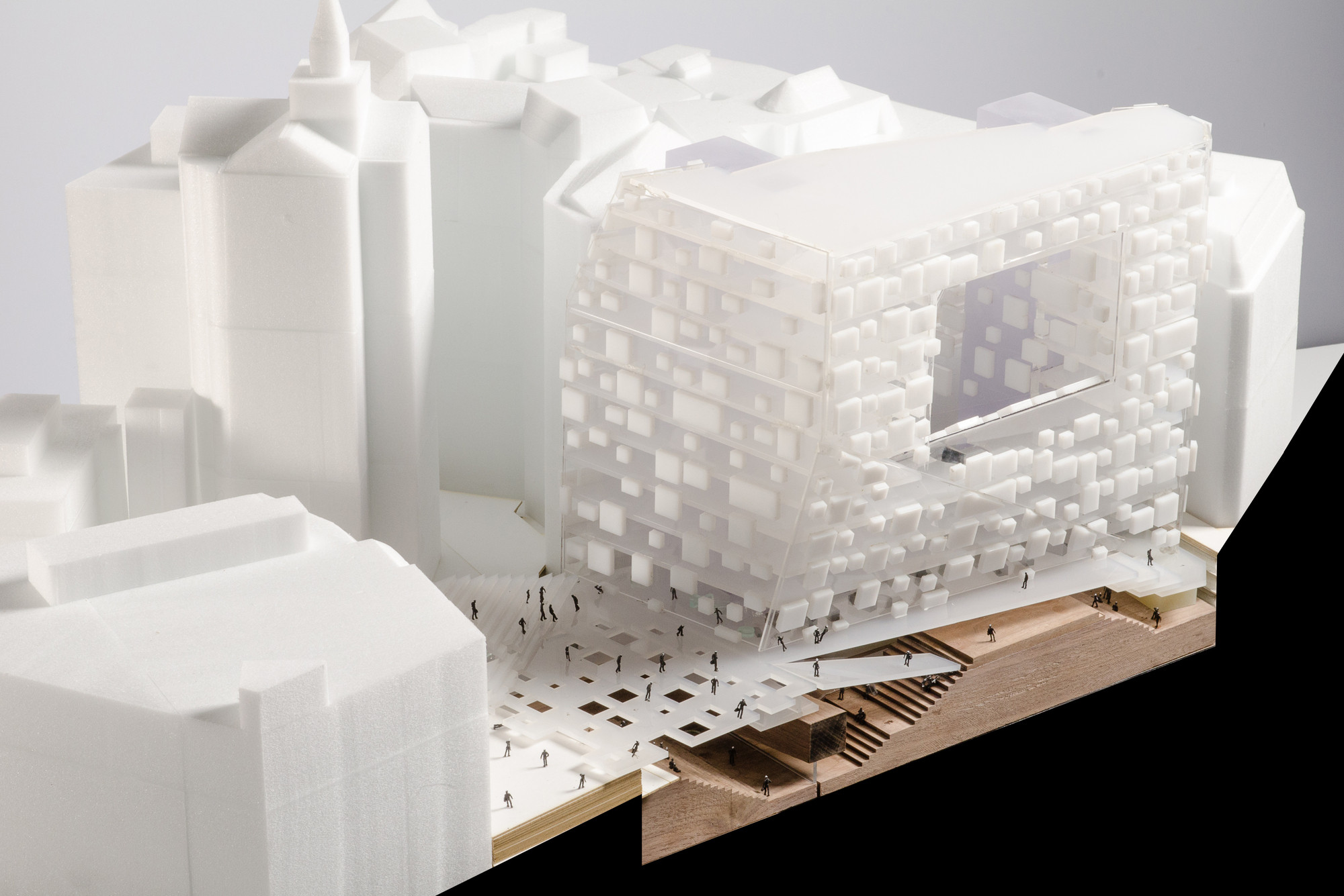 LSE Asks for 'Further Work' To Be Done on Shortlisted Designs, Team B. Image Courtesy of LSE / RIBA