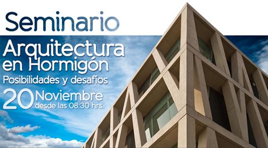 Seminario Arquitectura en Hormigón, Posibilidades y Desafíos / ¡Sorteamos 5 cupos!, Courtesy of ICH