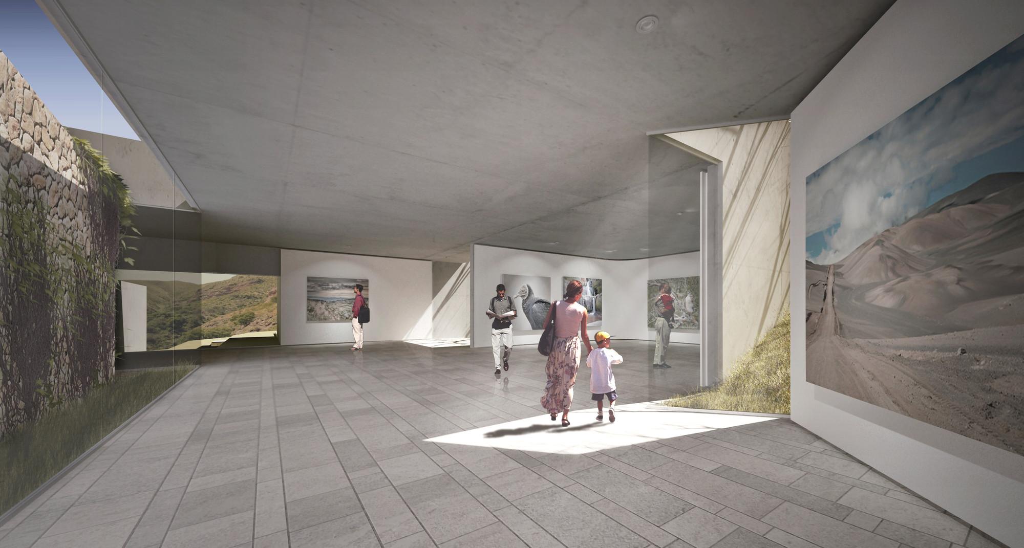 Primer Lugar Concurso Nacional para El Centro de Interpretación Ambiental y Casa de Guardaparques Reserva Natural Vaquerias de Córdoba, © Equipo Primer Lugar