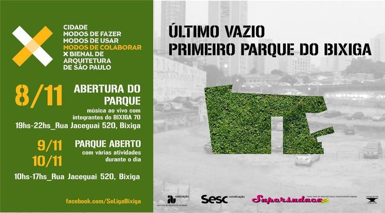 OFICINAS : Colaboração Bixiga – Parte II, Cortesia de X Bienal de Arquitetura de São Paulo