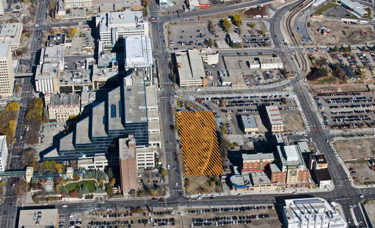 DIALOG e Snøhetta projetarão a Nova Biblioteca Central de Calgary, Site. Image Courtesy of DIALOG