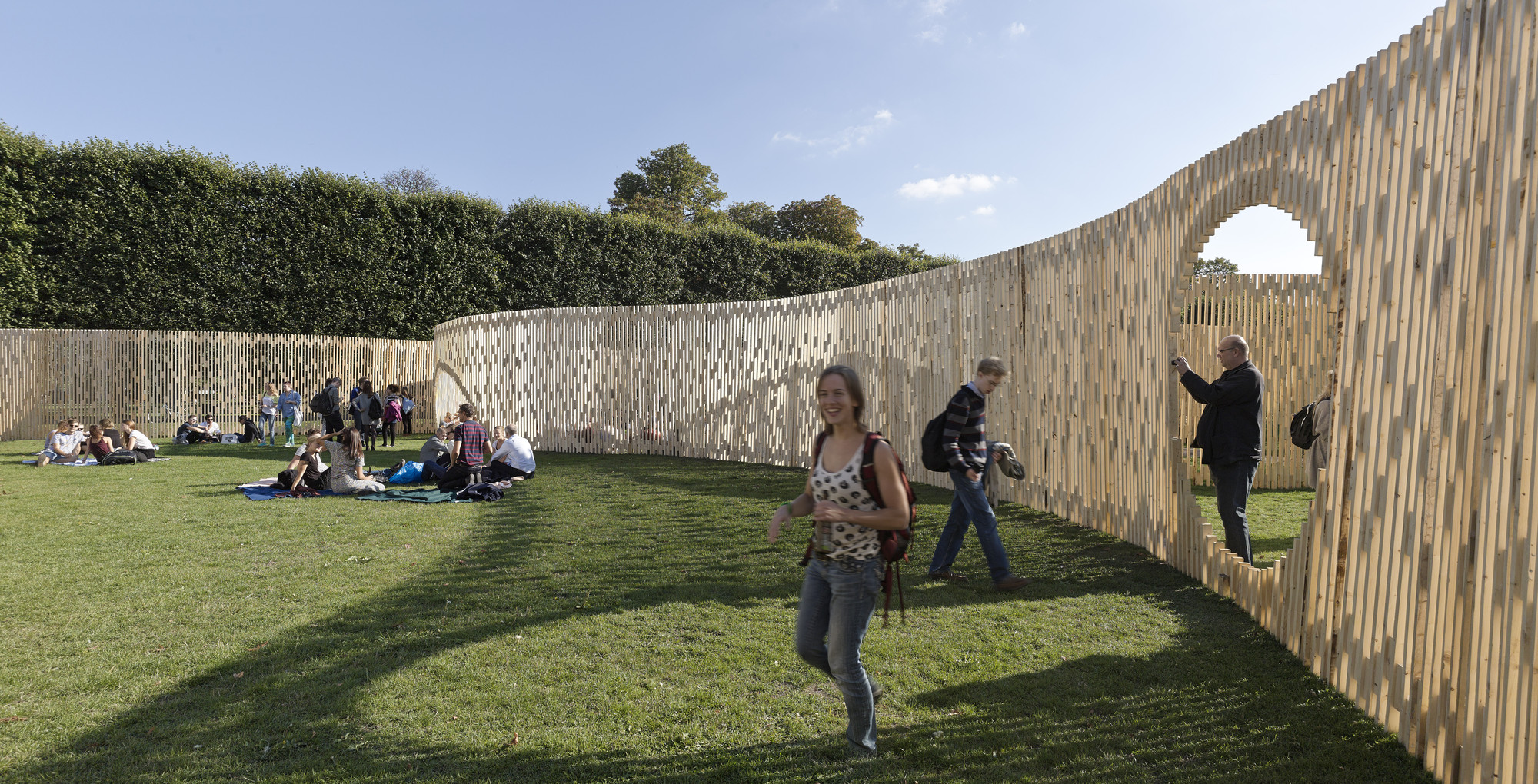 Trylletromler / Fabric Architecture
