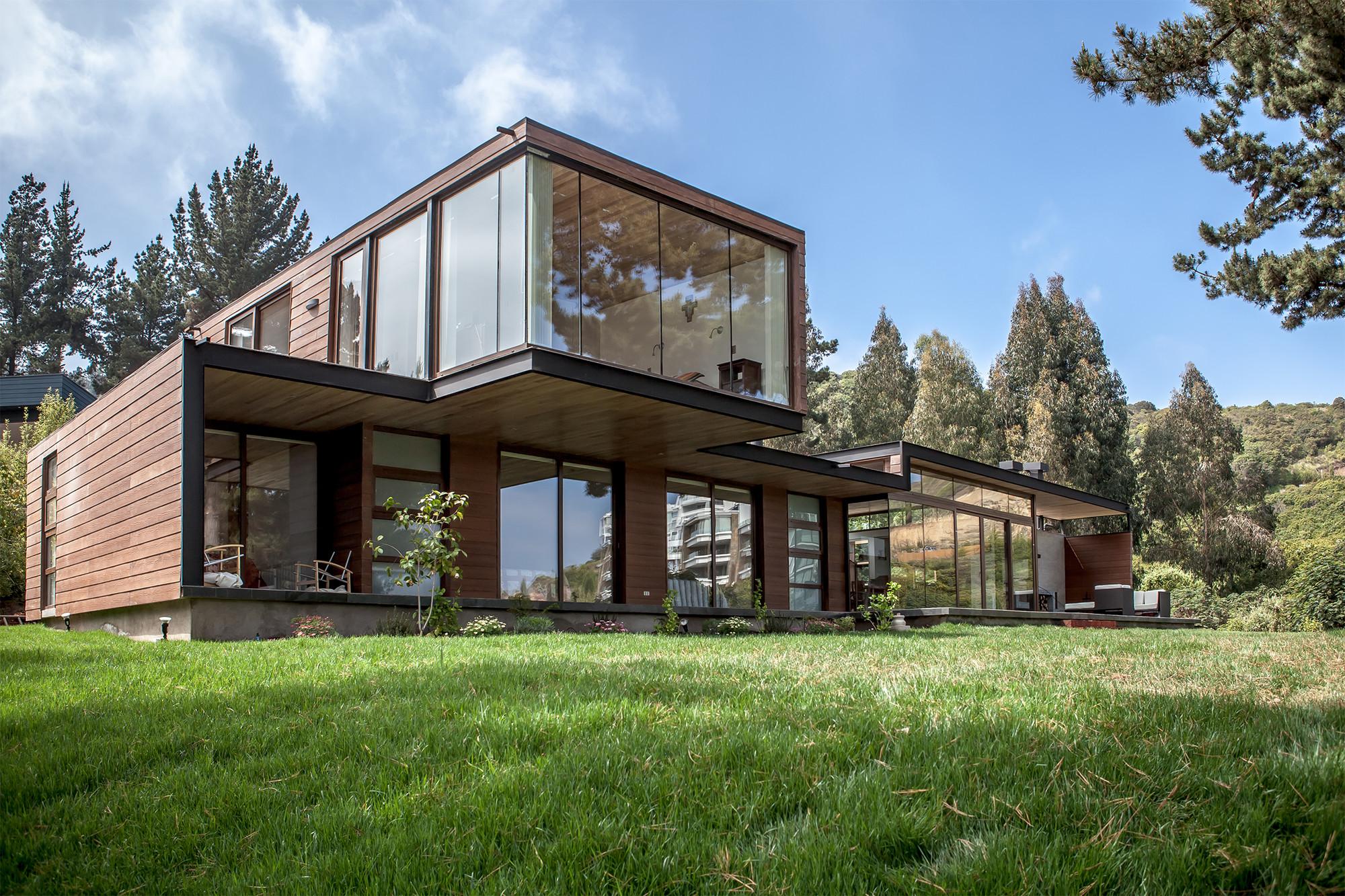 Bustamante house par arquitectos archdaily for Casa de arquitectos